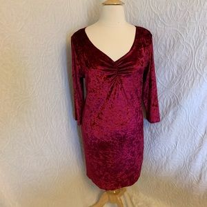 Star Vixen very soft red midi dress 3X